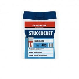 STUCCOCRET Στόκος σπατουλαρίσματος 4 Kg ISOMAT