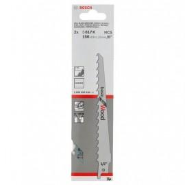 Λάμες σπαθοσέγας ξύλου 150mm Bosch 2608650616