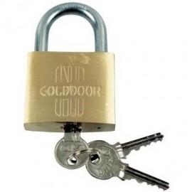 Λουκέτο Νο30 με ίδιο κλειδί ορειχάλκινο GoldDoor 463