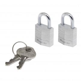 Λουκέτα Νο 20 σετ 2 τεμαχίων με ίδιο κλειδί  Master Lock 9120T