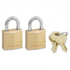 Λουκέτα Νο 30 σετ 2 τεμ. ορειχάλκινα Master Lock 130T