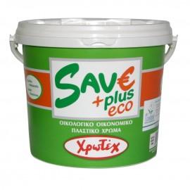 SAVE PLUS ECO Λευκό Πλαστικό χρώμα 0,75lt ΧΡΩΤΕΧ
