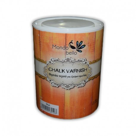 Βερνίκι νερού Satine Νο163 Chalk Varnish 750ml MONDO BELLO TETRALUX