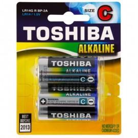 Μπαταρίες Toshiba C αλκαλικές σετ 2 τεμ. 1.5V LR14