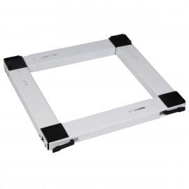 Βάση για Κουζίνα και ψυγείο με ρόδες τετράγωνη λευκή OEM