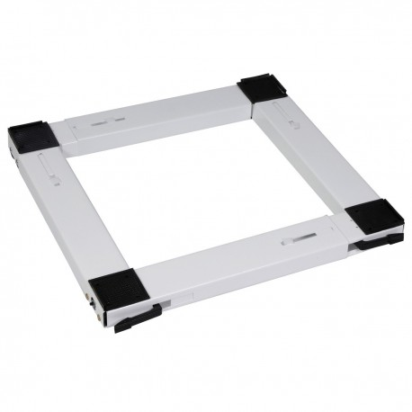 Βάση για Κουζίνα και ψυγείο με ρόδες τετράγωνη λευκή