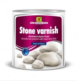 Stone Varnish Βερνίκι πέτρας νερού Χρωμοδομή 750ml