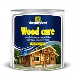 Wood care Νερού, Διάφανο υδατοδιαλυτό προστατευτικό ξύλου 750mi Χρωμοδομή