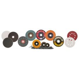 Δίσκοι λείανσης-fiber-velcro-πολύπτεροι-μπετού